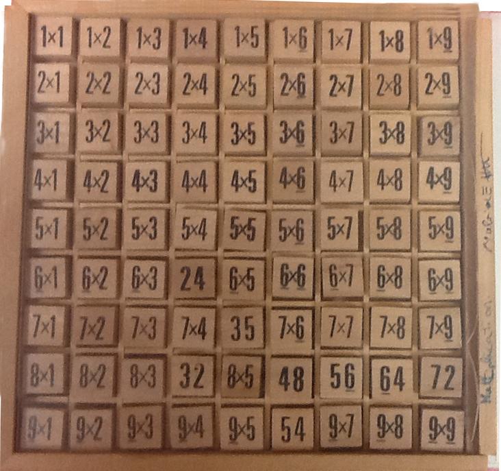 4 mot cl 1 apparition num rique connectons nos ecoles - Jacques bodoin la table de multiplication ...